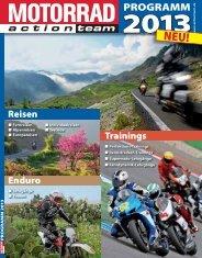 PDF-Download: MOTORRAD action team Programm 2013