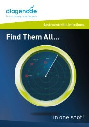 Find Them All… - Diagenode Diagnostics