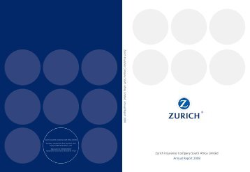 Full Annual Report 2008 - Zurich