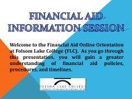 FA Orient/InfoForm/Quiz/Responsibilities - Folsom Lake College ...