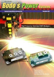 High Frequency Optimized IGBT Modules - Bodo's Power