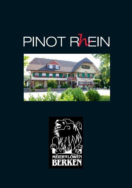 Pinot Rhein 2010 - Wein-News SigiHiss
