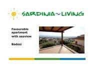 Favourable apartment with seaview Badesi - Sardinia Living
