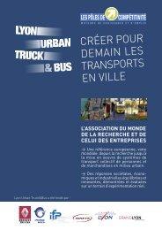CRÉER POUR DEMAIN LES TRANSPORTS EN VILLE - ADERLY