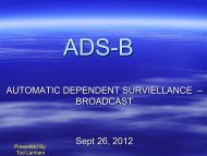 FIS-B - ADS-B for General Aviation