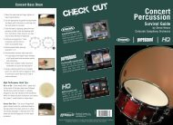 Concert Percussion Survival Guide By Steve Hearn - Evans ...