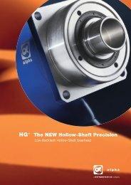 The NEW Hollow Shaft Precision - Mclennan Servo Supplies Ltd.
