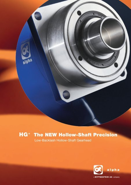 The NEW Hollow Shaft Precision - Mclennan Servo Supplies Ltd.