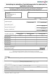 Anmodning om udstedelse af oprindelsesgarantier for ... - Energinet.dk
