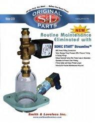 sonic start® streamline - Smith & Loveless Inc.