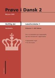 Læseforståelse 1 - Ny i Danmark