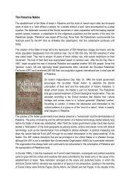 The Palestine Nakba - Ludwig Watzal