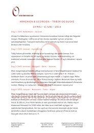 armenien & georgien - træer og buske 22 maj – 6 juni - 2013