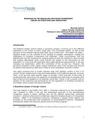 REMEDIES IN THE BRAZILIAN ANTITRUST EXPERIENCE: ISSUES ...