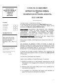 COMMUNE DE BACCARAT EXTRAIT DU PROCES-VERBAL - Page 6