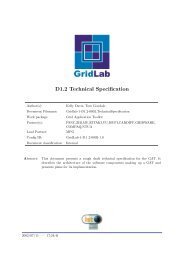 D1.2 Technical Specification - GridLab
