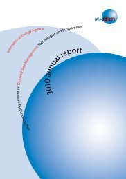 2010 annual report - IEA Demand Side Management Programme