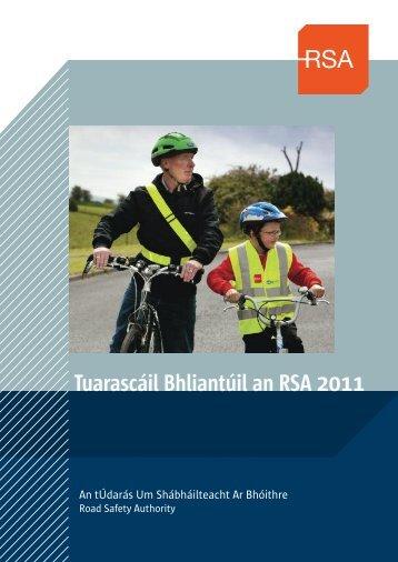 Tuarascáil Bhliantúil an RSA 2011 - Road Safety Authority