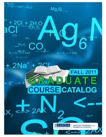 Graduate Programs In The Biomedical Sciences