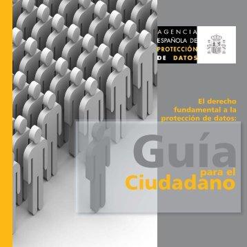 Guía para el ciudadano - Agencia Española de Protección de Datos