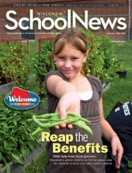 Tool: Reap the benefits article from Wisconsin School News