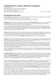 Härtefallkommission in Berlin - Merkblatt für Antragsteller