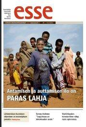 Esse 49/2011 pdf - Espoon seurakuntasanomat