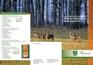 Wildacker-/Blühstreifen - AGRAVIS Ems-Jade GmbH