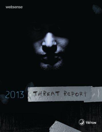 2013 Threat Report - Websense.com