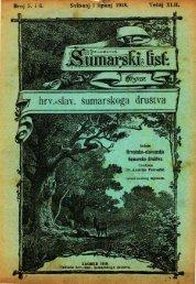 ÅUMARSKI LIST 5-6/1918