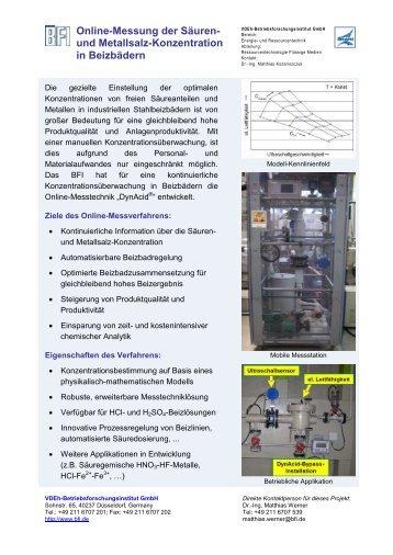 Einige Beispiele unserer Projekte - BFI.de