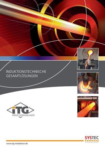 Imageprospekt de.pdf - ITG Induktionsanlagen GmbH