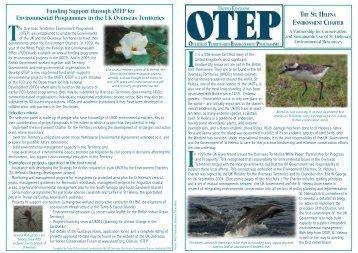 brochure st helena - UKOTCF
