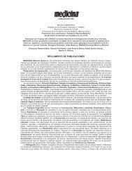 REGLAMENTO DE PUBLICACIONES - Medicina (Buenos Aires)