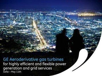 GE Aeroderivative gas turbines - Publics.bg