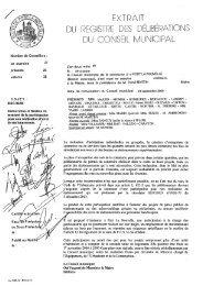 EXTRAIT DU REGISTRE DES DÉLIBÉRATIONS ... - Port-la-Nouvelle