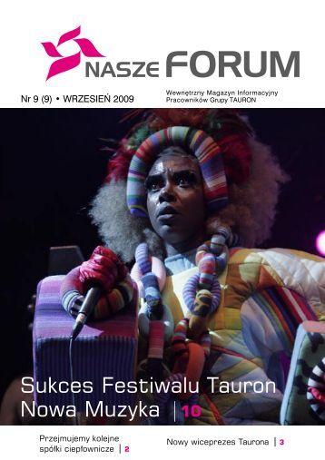 Sukces Festiwalu Tauron Nowa Muzyka 10 - Elektrociepłownia Tychy