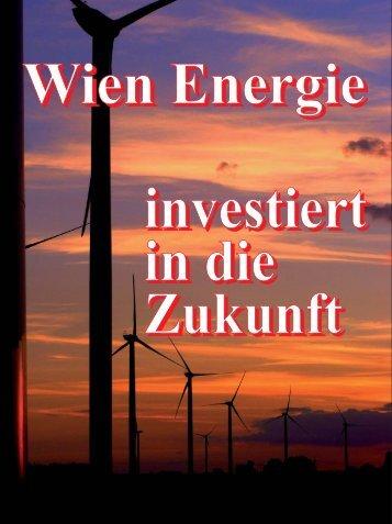 Wien Energie investiert in die Zukunft - pro umwelt