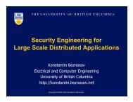 Objects - LERSSE - University of British Columbia
