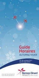 Horaires Rennes - Aéroport Dinard