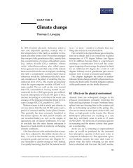 Chapter 8 - Society for Conservation Biology