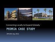 Peoria investment conference - Peoria Economic Development Group