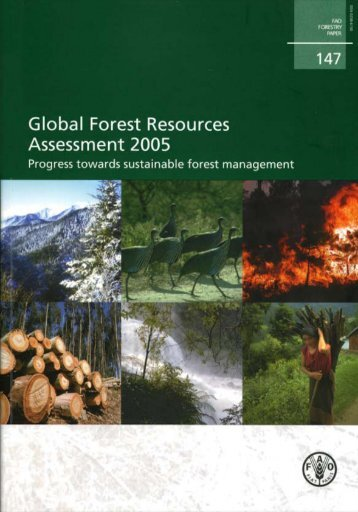 Global Forest Resources Assessment 2005 - FAO