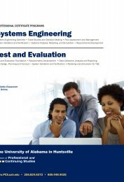 Systems Engineering Test and Evaluation - Osher Lifelong Learning ...