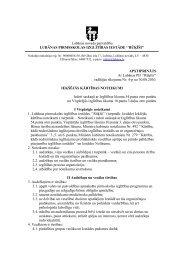 Iekšējās kārtības noteikumi - Lubānas novads