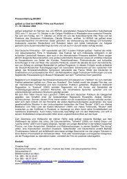 August 2003 - goEast - Deutsches Filminstitut