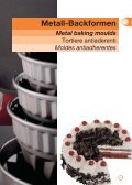 Metall-Backformen Metal baking moulds - Hefe van Haag GmbH & Co - Page 7