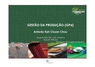 GESTÃO DA PRODUÇÃO (GPd) - Abrafati