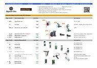 spot-on price list - march 2013 - Spot-on.net