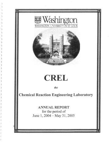 2005 Report - Crel - Washington University in St. Louis